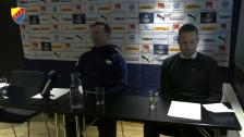 Presskonferensen efter Örebro-Djurgården