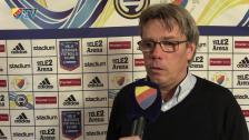 Pelle efter årets sista Allsvenska match