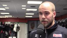 Henrik Björklund efter torsdagens match mot BIK Karlskoga