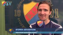Comebackande Jesper Arvidsson: Vi har hemmaplansfördel oavsett var vi spelar