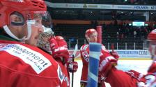 Jubel på isen efter seger över Oskarshamn
