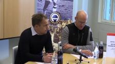 Se presskonferensen efter segern i Sundsvall