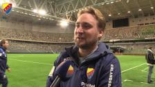Hugo Berggren om 1-1 mot Hammarby