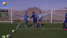 Ett målvaktsträningspass med Nikos - Del 2