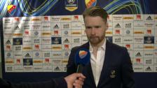 Une Larsson efter förlusten mot AIK