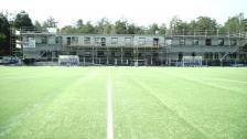Nya klubbhuset snart färdigt - Kindlund tar dig med in i innandömet