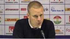 Presskonferensen efter Dalkurd - Hammarby