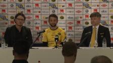 Presskonferens IF Elfsborg presenterar ny spelare