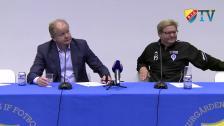 Presskonferensen efter Djurgården - Åtvidaberg