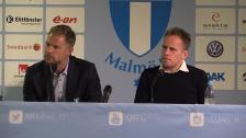 Presskonferensen efter Malmö FF - Hammarby